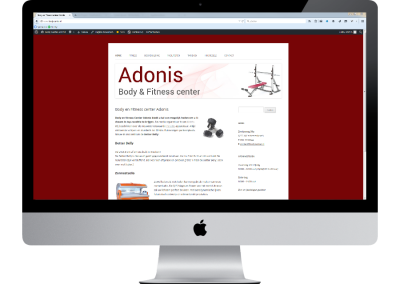 Body & Fitness center Adonis