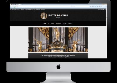 Sietze de Vries – Musicus